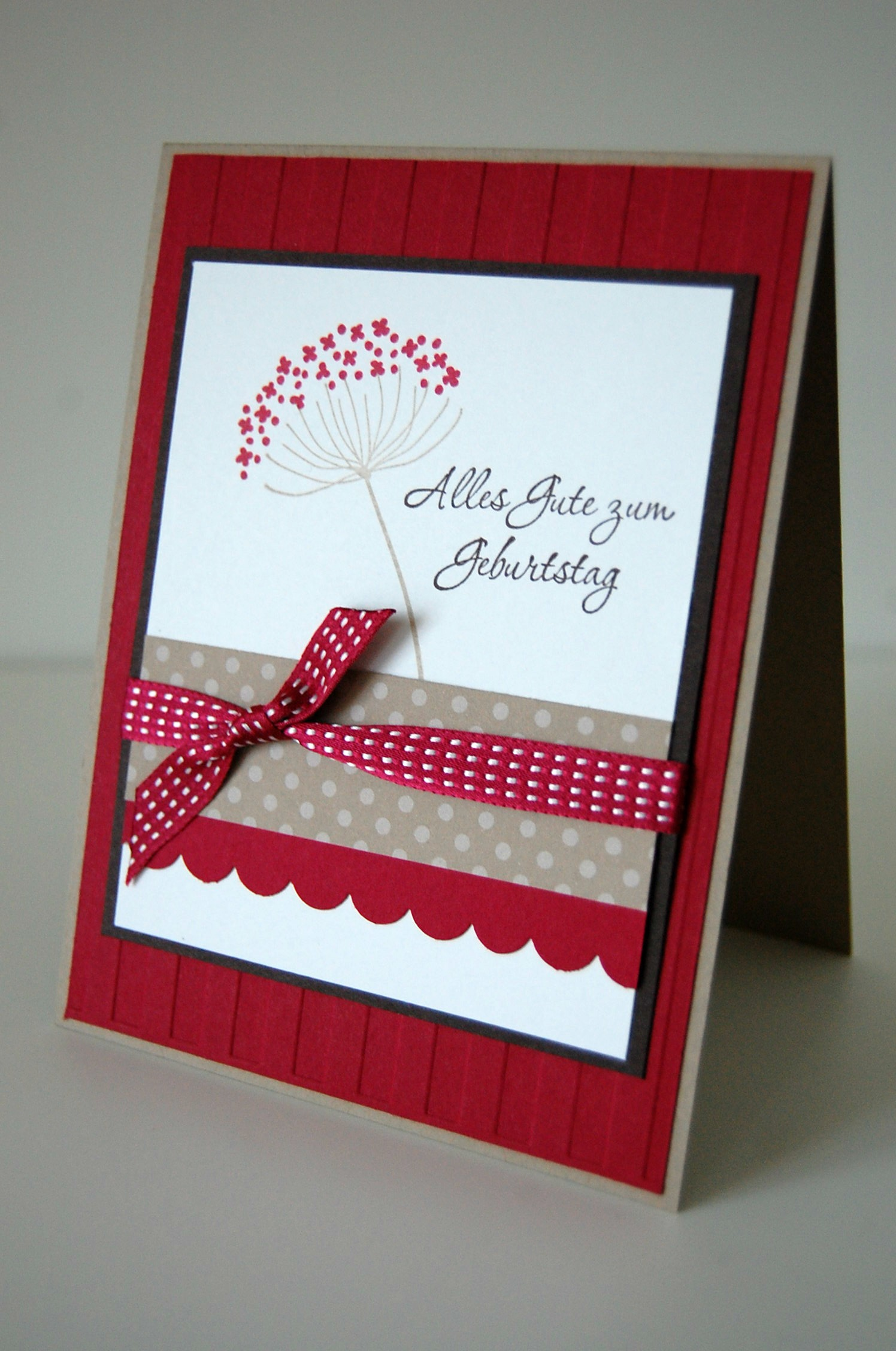 Geburtstagskarte mit summer silhouettes stampin up in for Geburtstagskarte basteln mann
