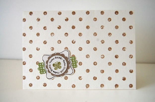 stampinup_distressed dots_Dankekarte