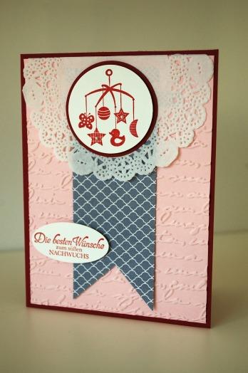 stampinup_das schönste geschenk_babykarte