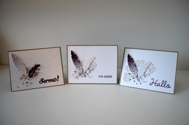 stampinup_workshop münchen_four feathers