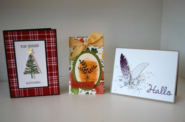 stampinup_workshop münchen_weihnachtskarte