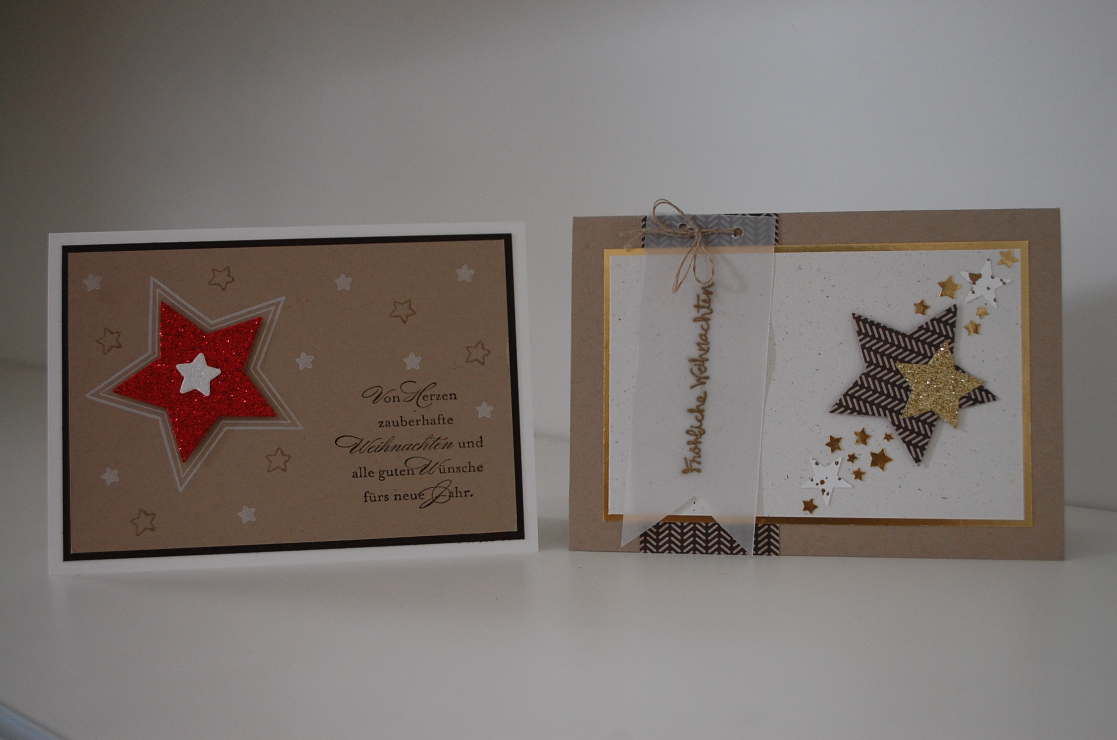 weihnachtspost 2014 und wintergr e stampin up in m nchen. Black Bedroom Furniture Sets. Home Design Ideas